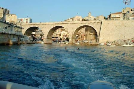 appartement terrasse face à la mer - Marseille