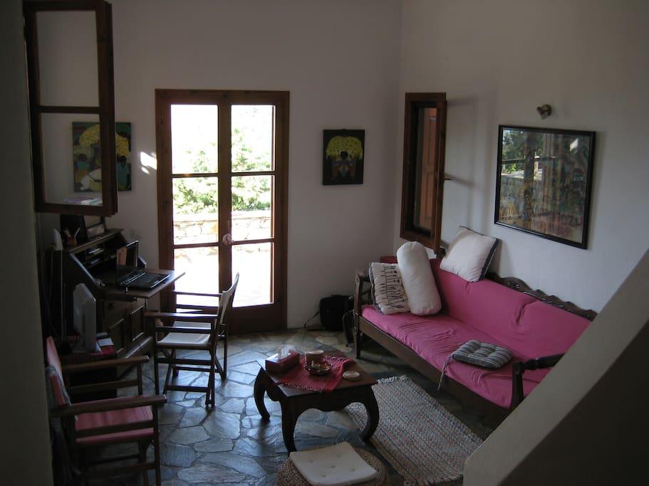 Part o living room.