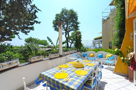 Villa Positano Beach - sleeps 4 - Positano