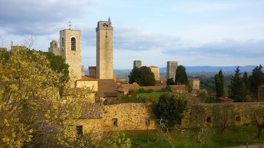 Huge Country House in San Gimignano - San Gimignano - Rumah