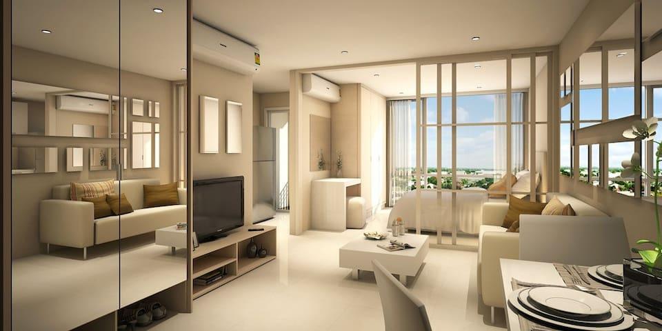 曼谷铁道市场附近白领公寓