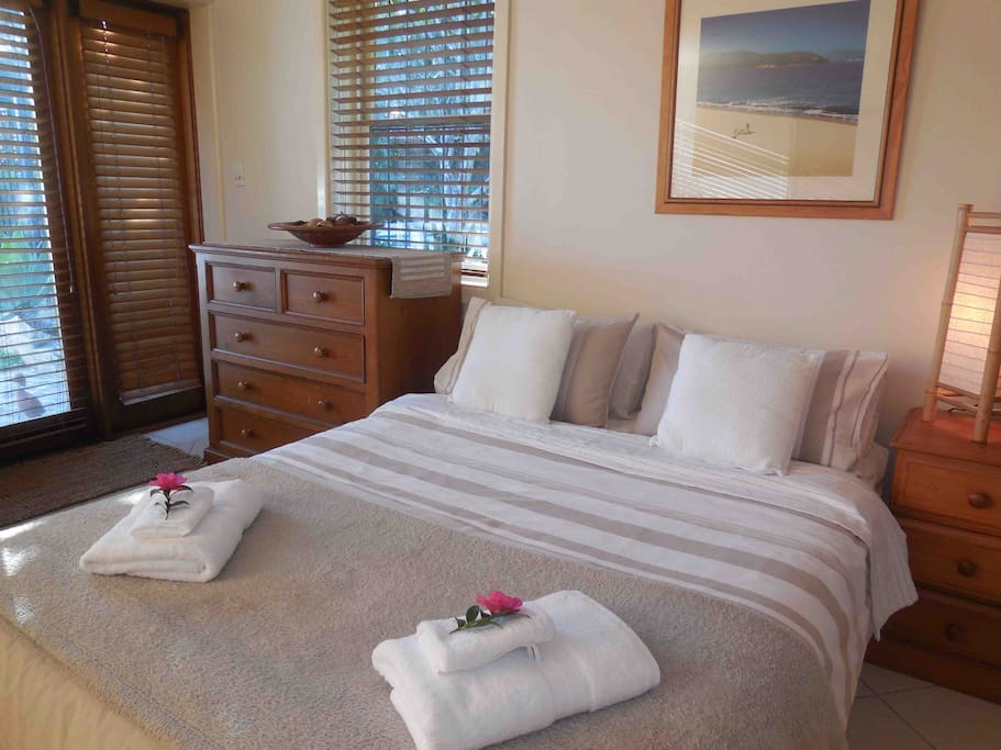 Quality bed and linen for a great night's sleep