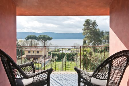 Double room with lake view - Castel Gandolfo - Bed & Breakfast