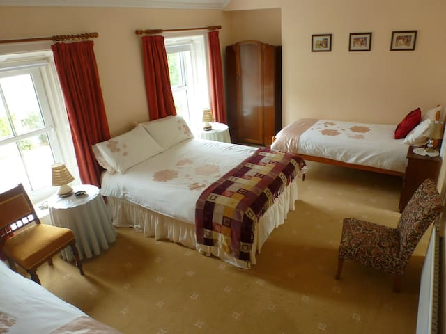 Spacious room in Farmhouse B&B - Inishowen