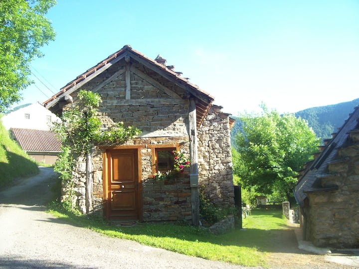 Charming mountain house in tranquil hamlet.