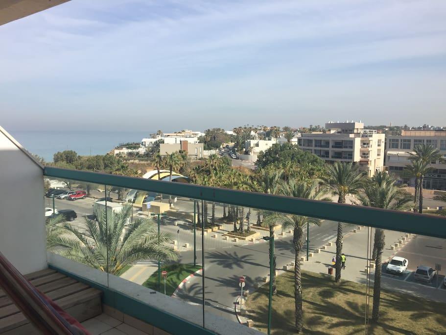 2 beach view balconies