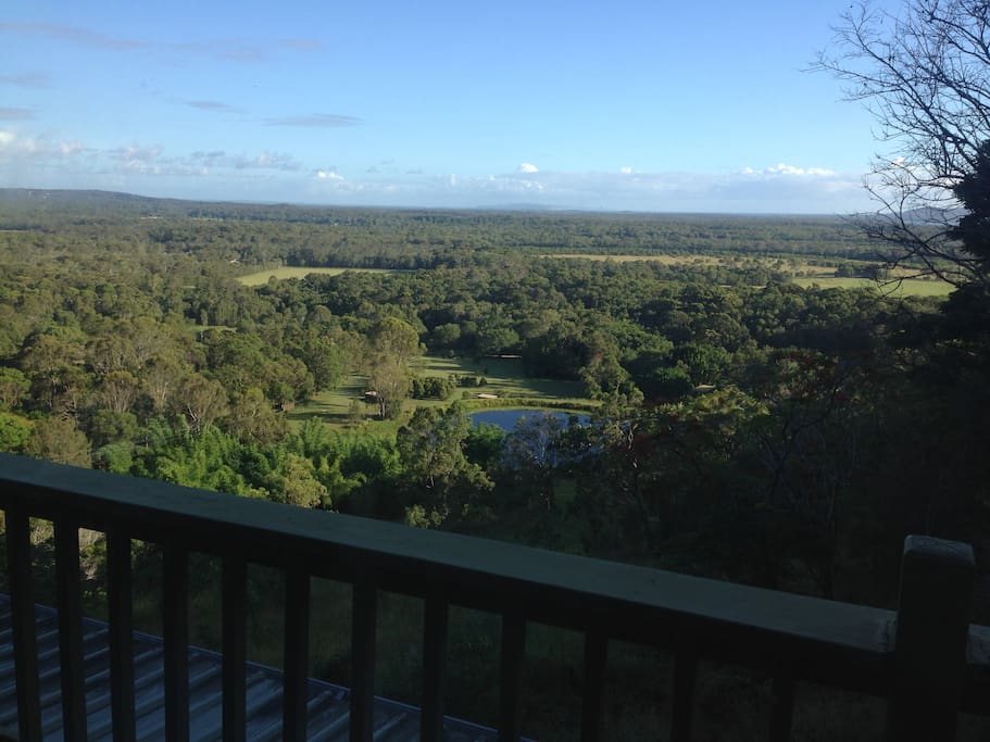 View from the verandah to Noosa