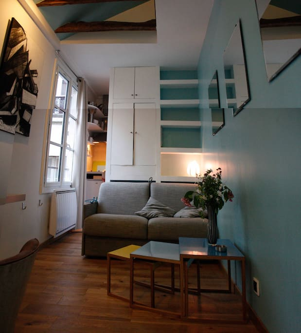 One Room Flat In Le Marais Apartments For Rent In Paris