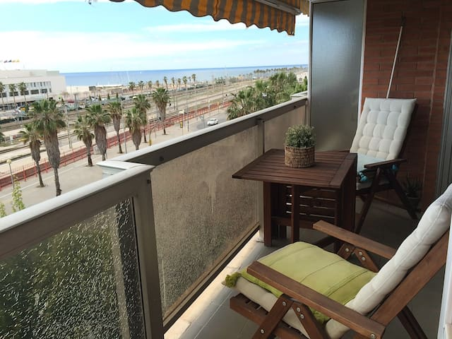 Room in front of the Beach!!! - Mataró - อพาร์ทเมนท์