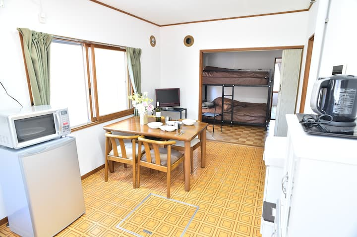 Convenient for Otaru sightsee  Under Suitengu(A)