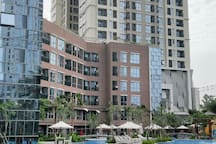 Rent Apartement  Luxury 1BR the Mansion Emerald