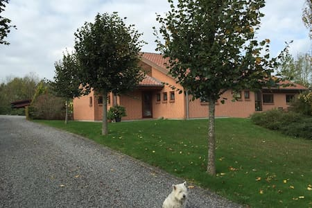 25 minutes to LEGOLAND and Billund - Rask Mølle - Bed & Breakfast