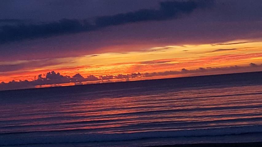 Enjoy the sunrise or a beautiful sunset!