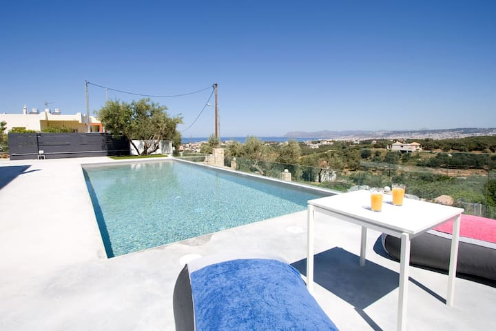 Andreas villa sea view & pool! - Daratsos - Villa