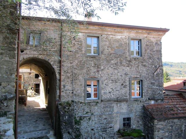 La Casetta del Poggiolo - Localita' Codiponte - Casola in Lunigiana - บ้าน