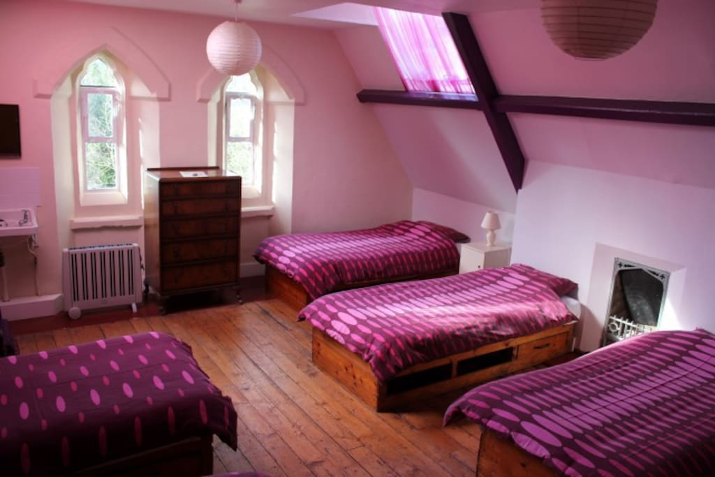 One of our lovely 4/5 bed rooms.