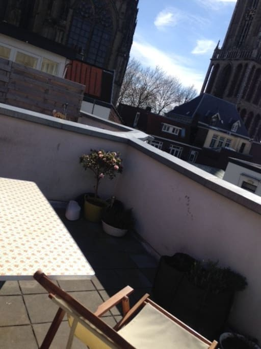 roof terrace, to enjoy a lazy afternoon