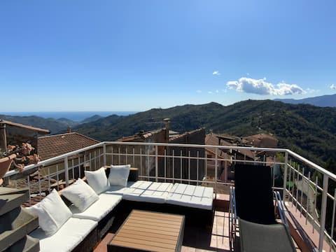 Sonne, Meer und Berge in Ligurien geniessen!