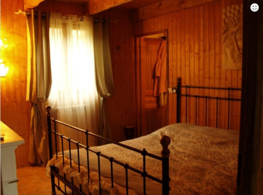 suite parentale avec douche et sauna