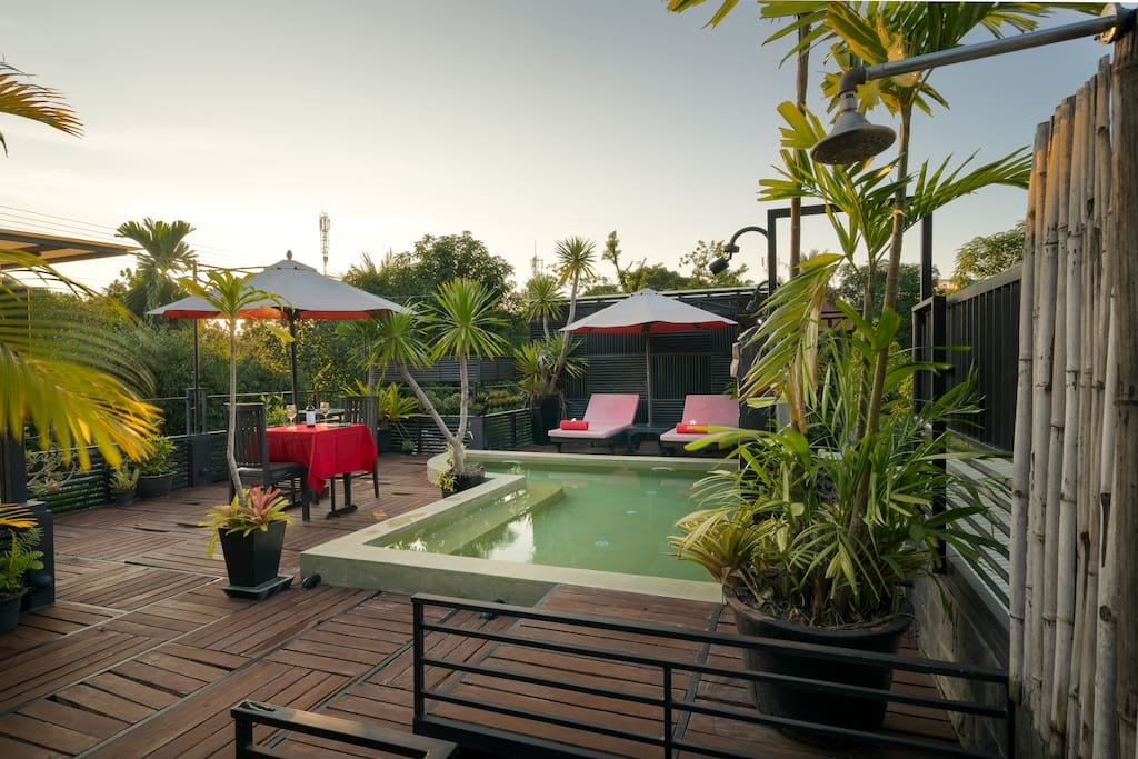 Rooftop-Private Pool