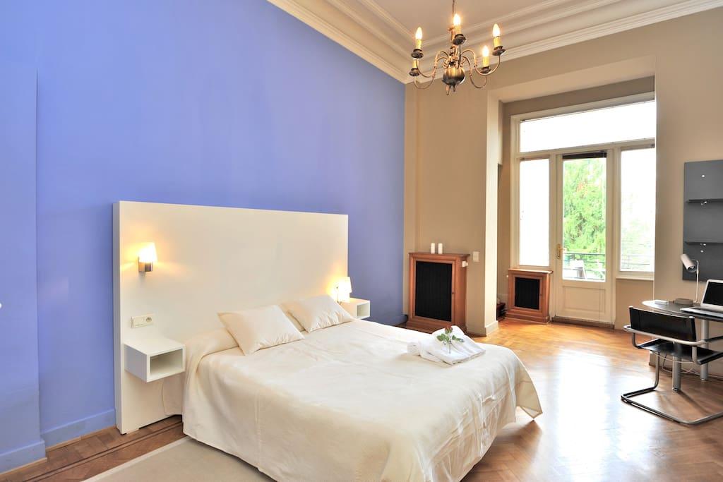Appart 1 chambre quartier europ en appartements louer for Appart hotel 2 chambres bruxelles