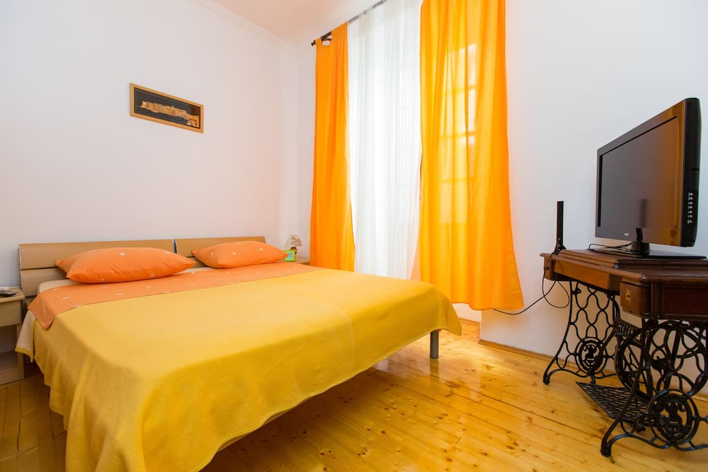 Double room with LCD tv and air conditioner