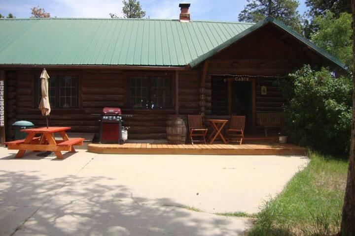 1929 Bonanza Log  Cabin