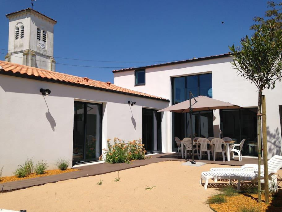 La cabane de la mer 4 chambres houses for rent in l - La cabane de l aiguillon ...