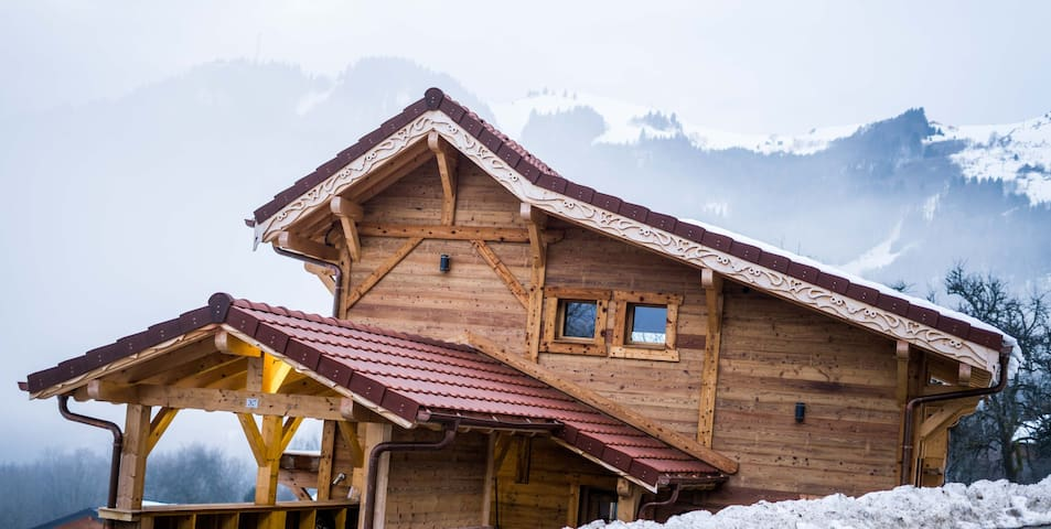 Chalet Atypique proche stations ski