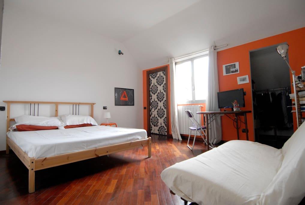 Camera dal letto