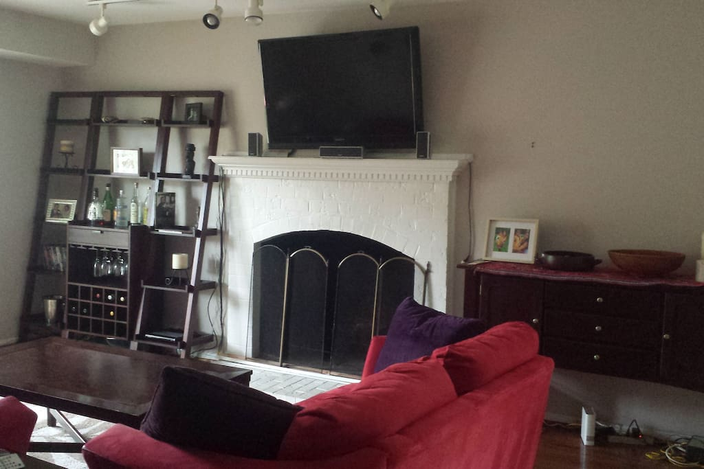 Living Room with flat screen t.v.