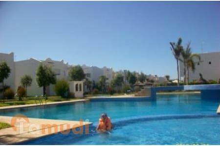 Villa Balneaire (Lagon Bleu) a 30 min de Casa - Bir Jdid - Dům