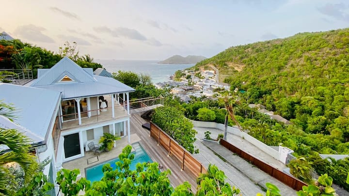 Villa Pain de Sucre, 4 Rooms, Flammands, St-Barts