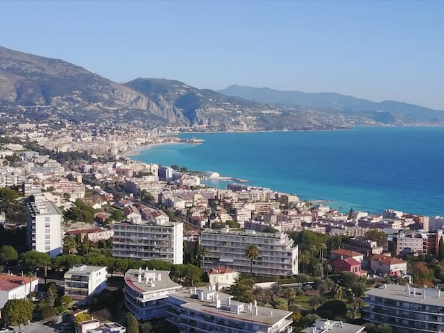 Wonderfull flat with seaview. Cap Martin/Monaco - Roquebrune-Cap-Martin