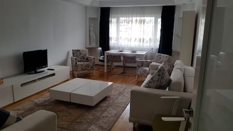 Spacious Flat with Massage Chair