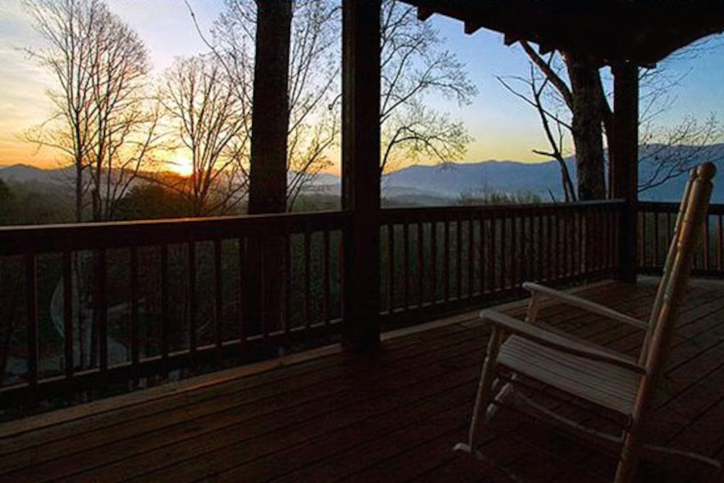 Rocking Chairs on the Deck
