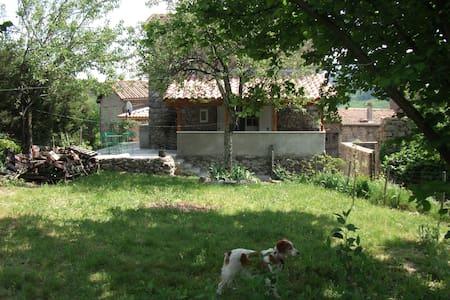 maison de village avec jardin - Valgorge - House