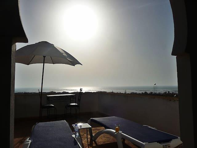 Chambre Double - Terrasse avec vue panoramique