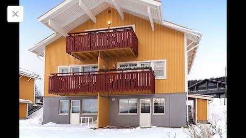 Lägenhet med ski in/ski out nära Centrumbacken
