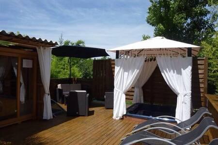 Maison avec spa et sauna privatifs - Palluaud - Ev