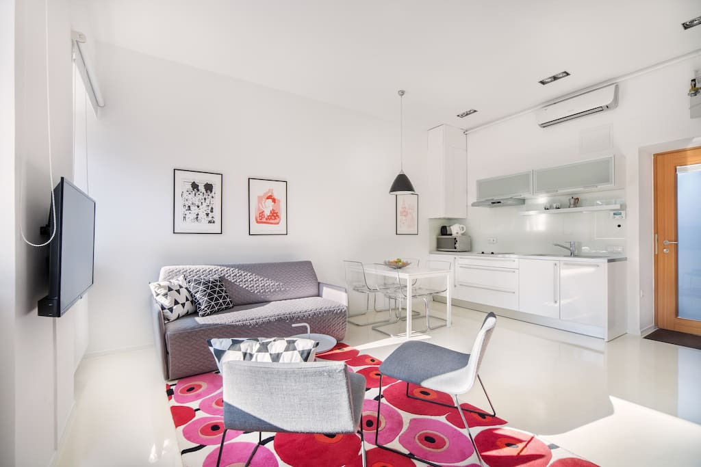 Whether you're coming to Ljubljana on holiday or on business, this lovely apartment will be an ideal base for all your plans.
