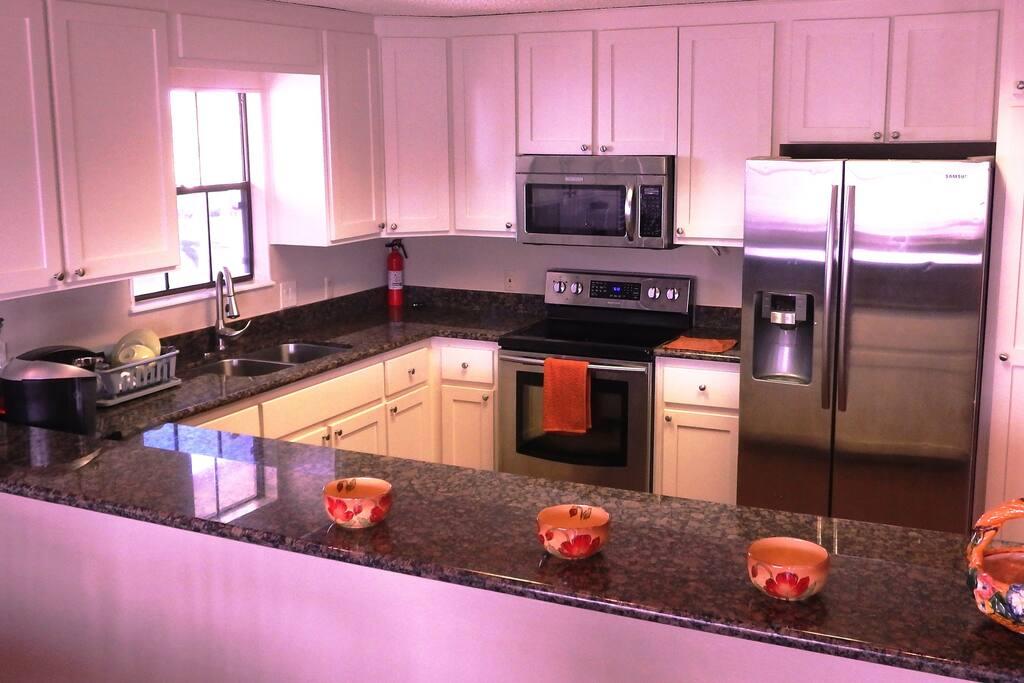 Recently updated kitchen