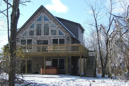 Beautuful, Cozy 6BR Alpine Chalet!! - Lake Harmony