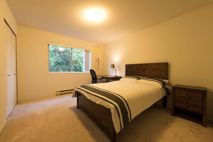 Bedroom on the third floor.