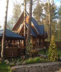 Загородный дом с баней