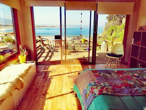 Cabaña Frida - Ritoque Raices Surf Spot.