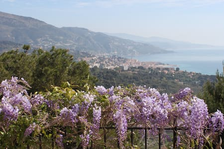 Charming villa on the Riviera with stunning view - Roquebrune-Cap-Martin