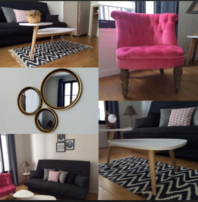 Cosy flat to rent in smart area near roland garros for Garage smart boulogne billancourt