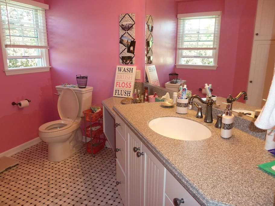 The guest's bathroom