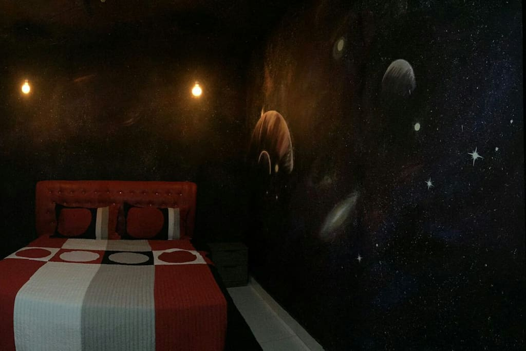 Master Room with Galaxy theme ohhhh